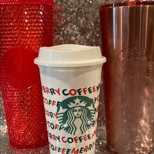 Starbucks LE 2019 tumblers & reusable cup